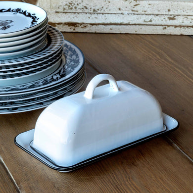 Enamelware Butter Dish