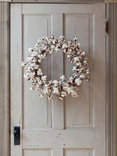 Load image into Gallery viewer, Cotton Wreath 26""