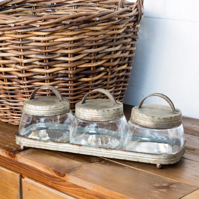 Vintage Staple Jars