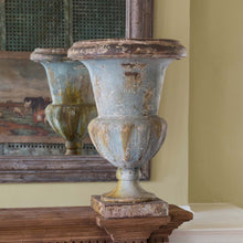 Load image into Gallery viewer, Oversized Aged Mantel Urn