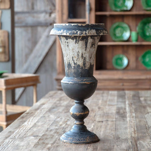 Black Mantel Urn