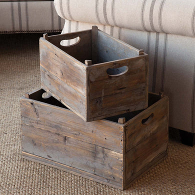 Produce Crates, Set of 2