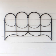 Load image into Gallery viewer, Antique Black Queen Headboard