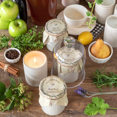 Farmhouse Candle in Natural Crock