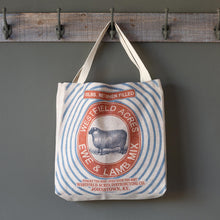 Load image into Gallery viewer, Feed Sack Shopping Bags, Set of 4