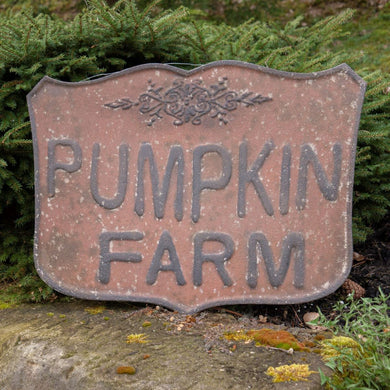 Pumpkin Farm Crest Sign