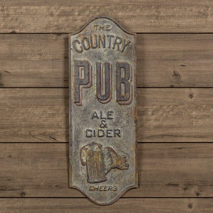 Country Pub Sign 48""