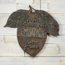 Load image into Gallery viewer, Weathered Lemonade Sign