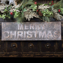 Load image into Gallery viewer, Black Merry Christmas Sign
