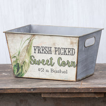 Load image into Gallery viewer, Vintage-inspired Sweet Corn Box
