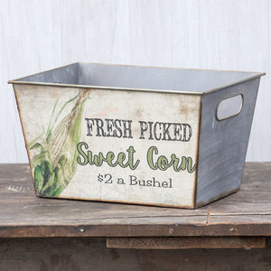 Vintage-inspired Sweet Corn Box