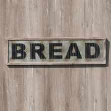 Load image into Gallery viewer, Metal Bread Sign