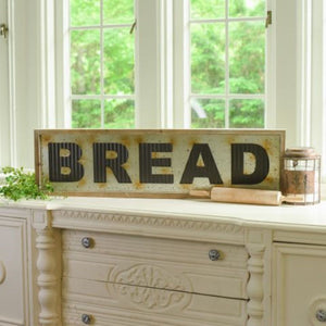Metal Bread Sign
