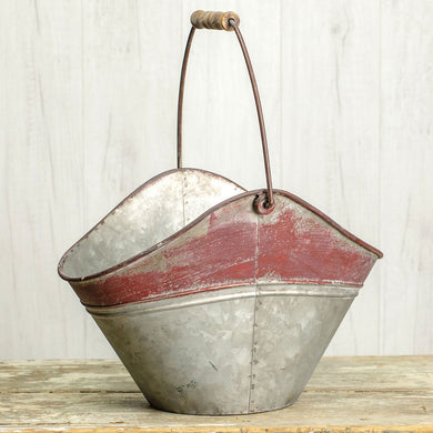 Oval Pail with Handle