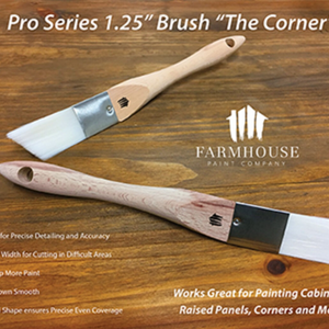 "Farmhouse Paint ""The Corner"" Brush"