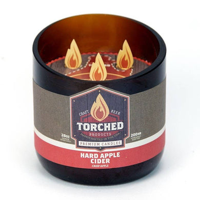 Torched Growler Candle Hard Apple Cider
