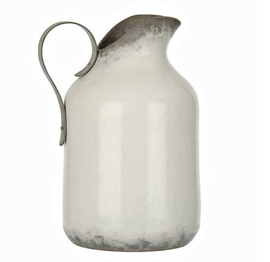 Oversized Ceramic Pitcher w/ Handle