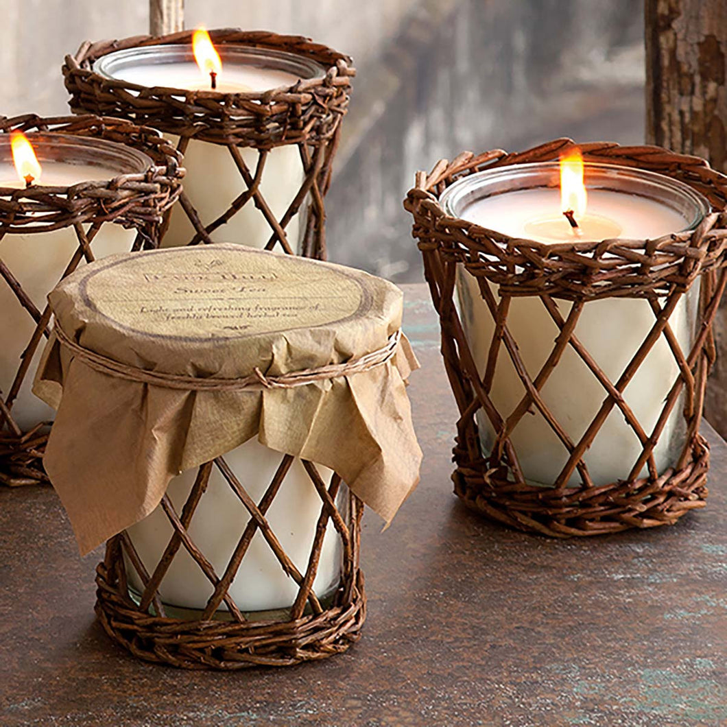 Silver Birch Willow Candle
