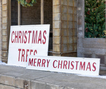 Load image into Gallery viewer, Vintage Merry Christmas Sign