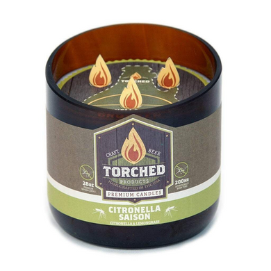 Torched Growler Candle Citronella Saison
