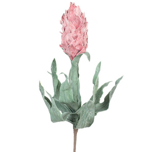 Foam Flower Stem Pink