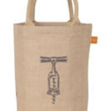 Jute Bag w/ Corkscrew