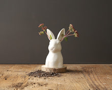 Load image into Gallery viewer, Ceramic Bunny Vase
