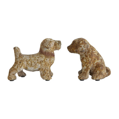 Weathered Dog Figurine