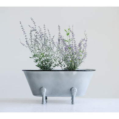 Decorative Metal Clawfoot Tub