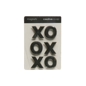 XOXO Pewter Magnets