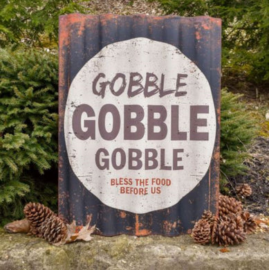 Painted Gobble Sign