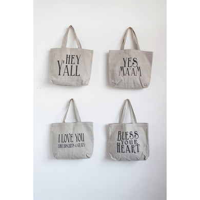 Southern Sayings Canvas Tote