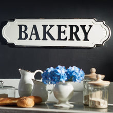 Load image into Gallery viewer, Enamel Bakery SIgn