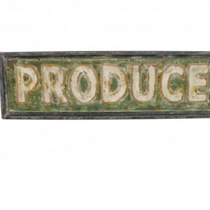 Oversized Produce Sign