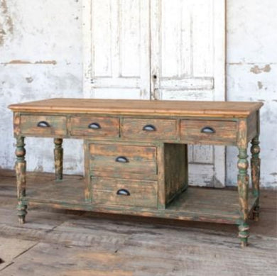Old Pine Kitchen Island