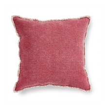 Load image into Gallery viewer, Woven Fringed Pillow
