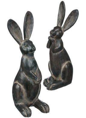 Long-Eared Black Rabbits S/2