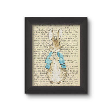 Upcycled Old Book Framed Prints
