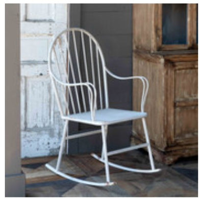 Vintage Metal Porch Rocker