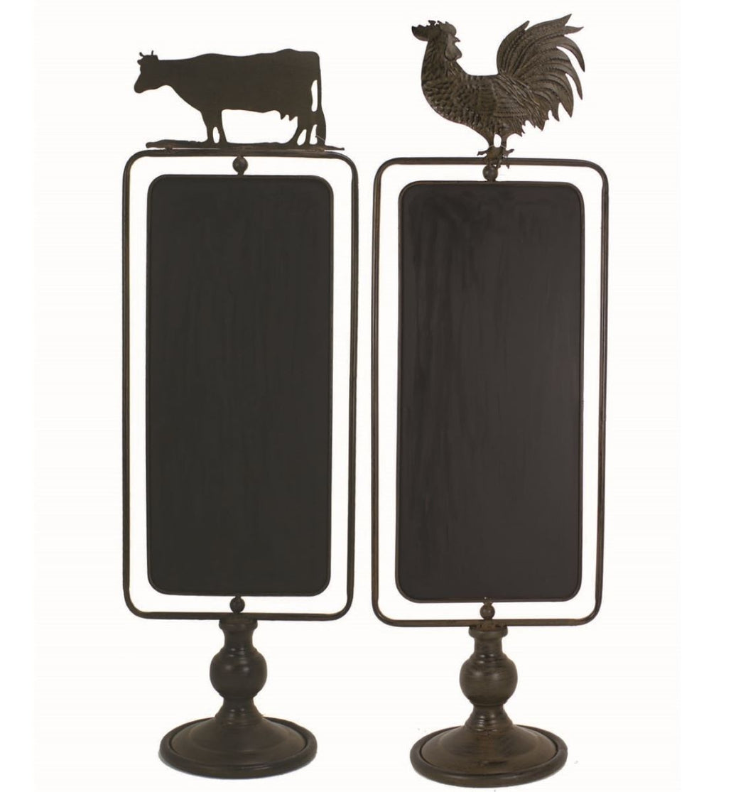 Cow Blackboard Stand