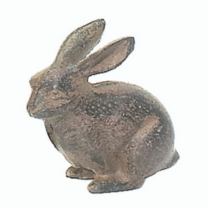 Tiny Cast Iron Rabbit