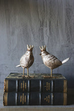 Load image into Gallery viewer, Bird in Crown Figurines, Set of 2
