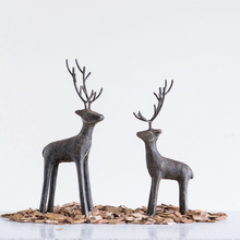Load image into Gallery viewer, Cast Iron Standing Deer