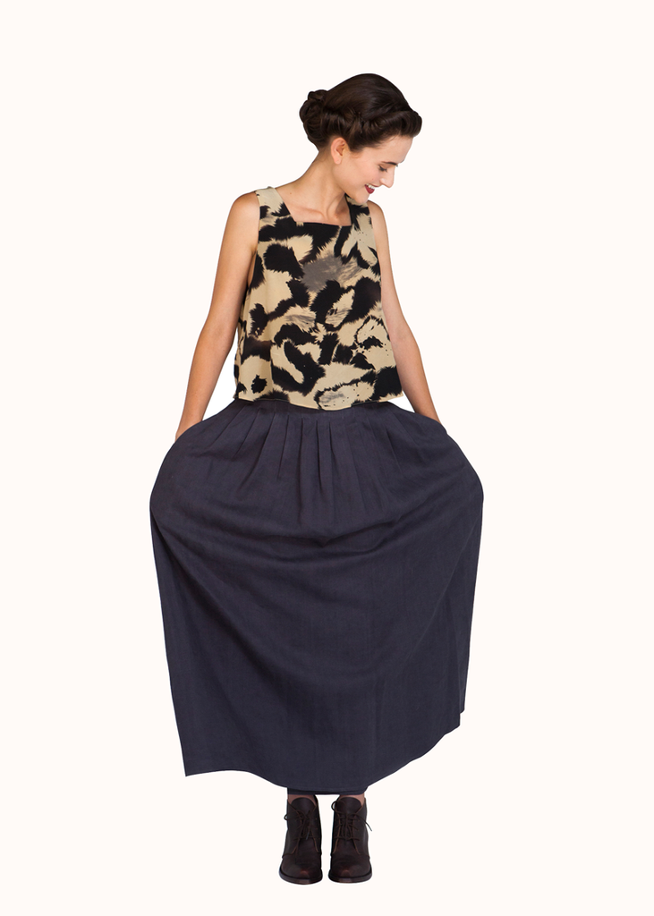 Ellipse skirt