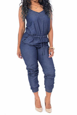 Fashionable Sexy Strap Jumpsuit