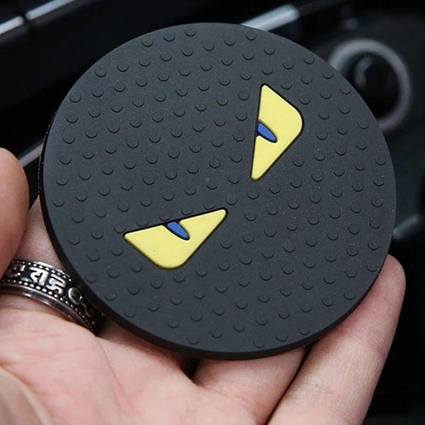 Universal Vehicle Water Cup Bottle Holder Anti-slip Pad Mat Silica Gel Car Cup Anti Slip for BMW Car Interior Accessories Style