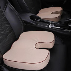 Seat Cushion and Lumbar Support for cars office chair travel seats Filled memory foam for women men Easy to clean multiple u