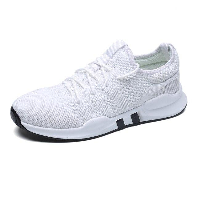 Outdoor Sports Sneakers Breathable Mesh Men Running Shoes Lightweight Athletic Jogging Walking Men Sport Shoes 2019 Hot Sale