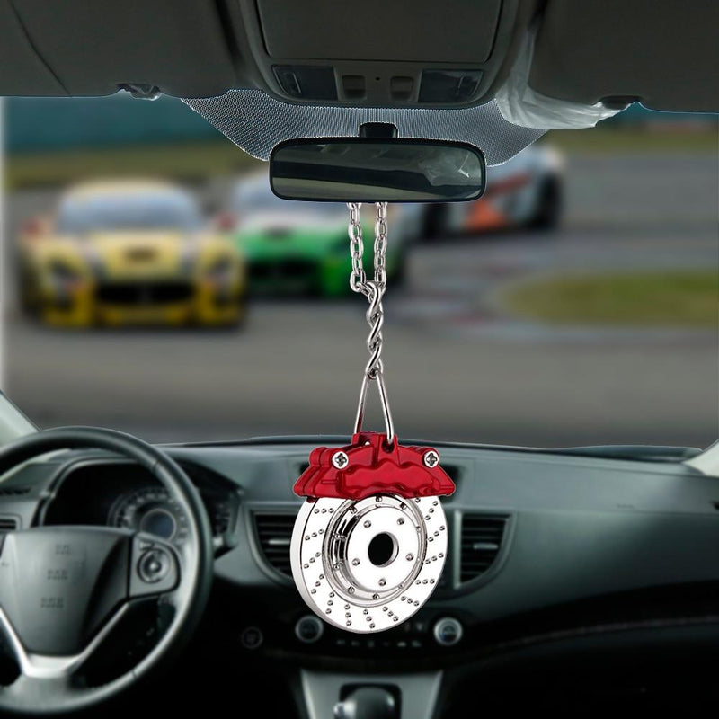 Bemost Car pendant Brake wheel Hanging Ornaments Automobiles Rearview Mirror Suspension Decoration  Auto Styling Gifts