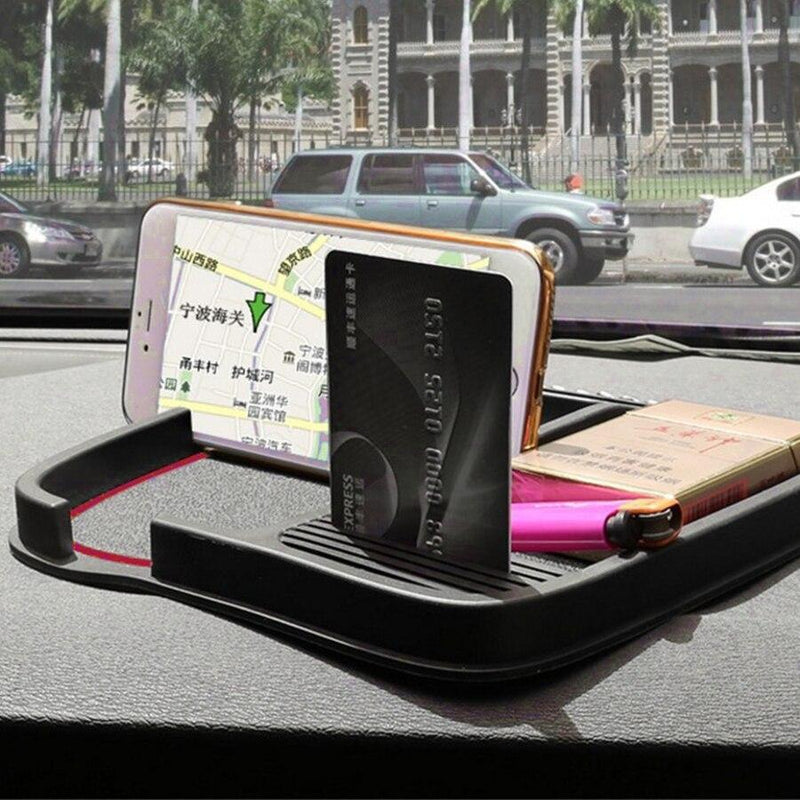 New Product Anti-Slip Mat Car Anti Slip Stop Sign Dashboard Bigger Large Size For Mobile Phones/Coins/ Key Chain Holders
